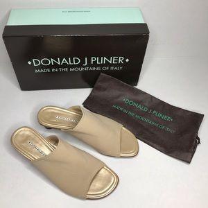 Donald J Pliner tan heels.